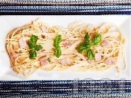 Спагети Карбонара - класическа рецепта